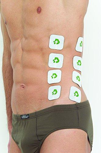 Tesmed MAX 830 con 20 elettrodi elettrostimolatore muscolare professionale : massima potenza, addominali, glutei, potenziamento muscolare, inestetismi, massaggi tens