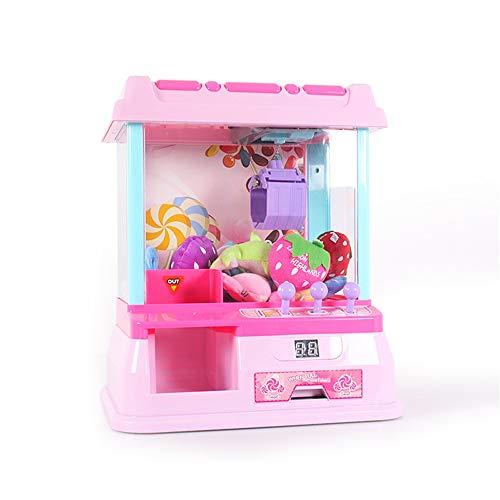 Peggy Gu Lernspielzeug für Kinder Haushalt SUB Mini Fang Puppe Maschine Kinder Mini Clipper Grab Maschine Spielzeug Für Kinder Über 3 Jahre Alt Denksportaufgaben Spielzeug Lehrreich