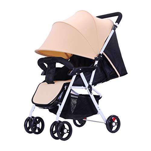 NACHEN Baby kinderwagen lichtgewicht opvouwbare anti-UV-schokdempers vier seizoenen beschikbaar