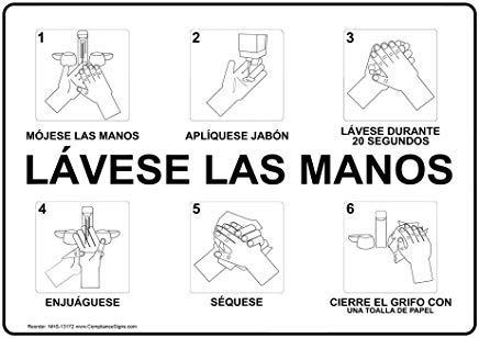 Was uw handen natte handen toepassen zeep wassen voor 20 tweede teken, grappige wensborden, poort teken, vandaar werf teken, 8
