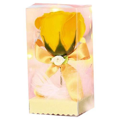 Verjaardagsgeschenk Valentijnsdag Cadeau Dames Rose met doos voor bruiloft Trouw met gedroogde bloemen Eeuwige rozen, Y, China
