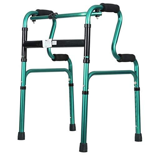 Z-SEAT Walker Andador Plegable bariátrico de Alta Resistencia para Personas Mayores, Adultos, Andador Extra Ancho, bastón de Cuatro Patas, Estabilidad, Soportes de liberaci ⭐