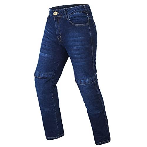 HWK Motorcycle Jeans (Waist 34'', Inseam 34'') Blue