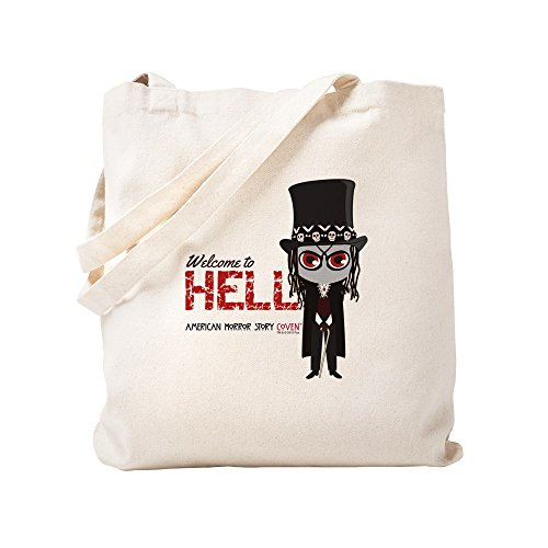CafePress American Horror Story Chibi Papa Legba Tragetasche, canvas, khaki, Größe S