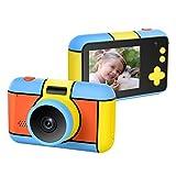 ElecRat Kids Digital Camera ,24MP Large LCD Blue Screen Anti-Drop Children's Video Camcorder