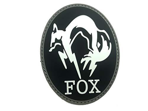 Fox Foxhound MGS Im Dunkeln Leuchten Airsoft Klettverschluss PVC-Patch