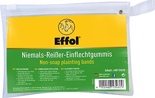 Effax Niemals Reißer Einflechtgummis, Transparent