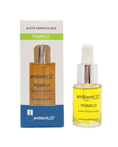Ambientair. Aceite perfumado hidrosoluble 15ml. Aceite hidrosoluble Pomelo para humidificador de ultrasonidos. Perfume de Pomelo para ambientador de vapor de agua. Aceite perfumado sin alcohol.