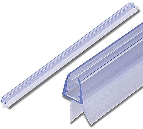 KANWA - 100cm Duschdichtung für 6 mm I 7 mm I 8 mm Glastür
