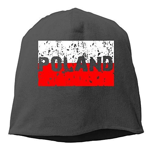 NA Mütze, Polnische Flagge, Wintermütze, warm, gestrickt, langlebig