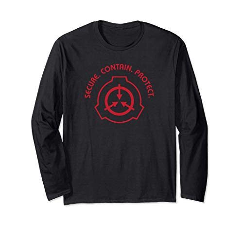 SCP Foundation | Secure Contain Protect Langarmshirt