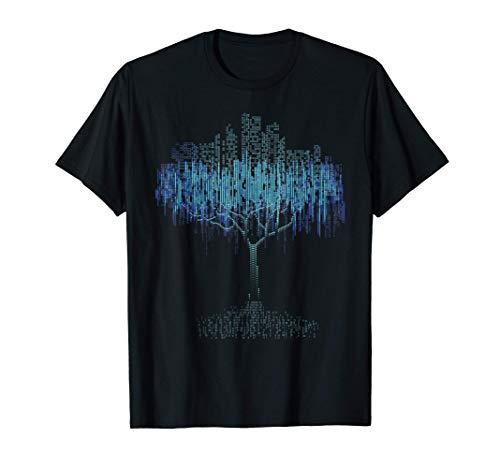Binary Tree Coding Computer Programmer Tee Shirt T-Shirt
