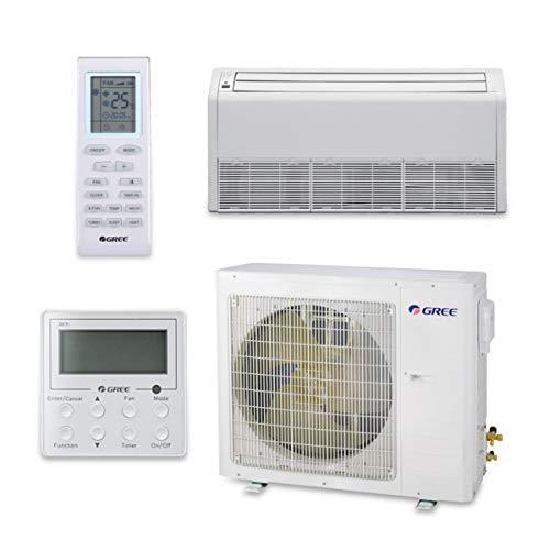 Gree 30,000 BTU 17 SEER Floor Ceiling Ductless Mini Split Air Conditioner Heat Pump 208/230V -  UMAT30HP230V1AF-S