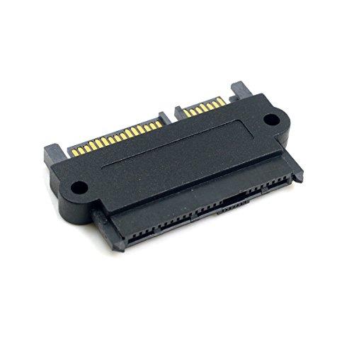 CY SFF-8482 SAS 22 Pin to 7 Pin + 15 Pin SATA Hard Disk Drive Raid Adapter Converter