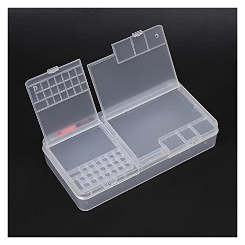 Cajas de herramientas Caja de herramientas de plástico Piezas Piezas Componentes Caso Múltiples compartimentos Celular Teléfono Reparación Almacenamiento y Organizador Contenedor Toolbox Almacenamient