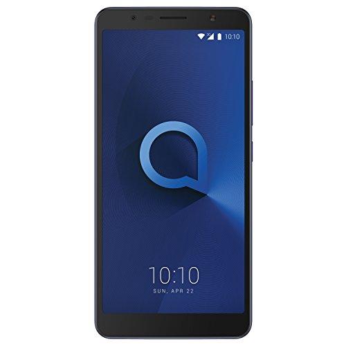 """Alcatel 3C – Smartphone Pantalla de 6"""" HD (3G, cámara de 8MPx, 1GB de RAM, 16GB de ROM), azul"""