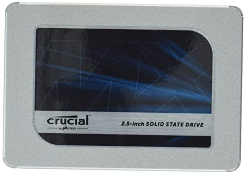 Crucial MX500 4TB CT4000MX500SSD1 SSD Interno-fino a 560 MB/s, 3D NAND, SATA, 2.5 Pollici