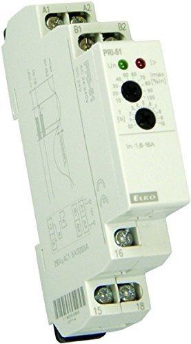 RO/SE PRI-51/05 Stromüberwachungsrelais, Strombereich 0,5A / 24-240V AC + 24V DC
