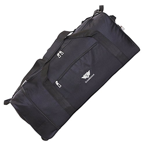 Slimbridge Havant grande 80 centimetri trolley pieghevole, Nero