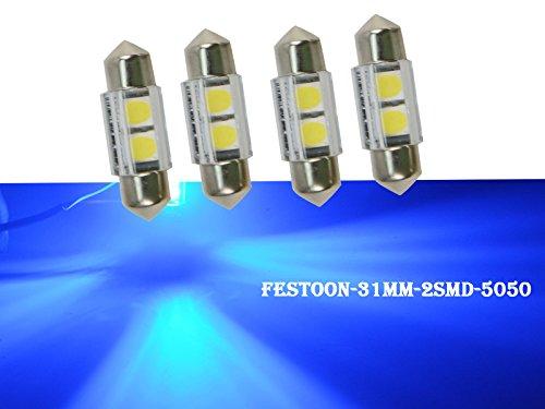 Njytouch 6/x 38/mm 6SMD 3014/211/Nature bianco siluro mappa interni lampadine LED 4300/K 12/V DC