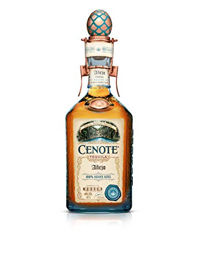 Cenote Tequila Anejo 100% Agave Azul 40% - 700ml