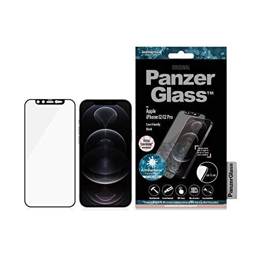 PanzerGlass - Protector de pantalla con Sakura Rose CamSlider™ Fashion Edition adornado...