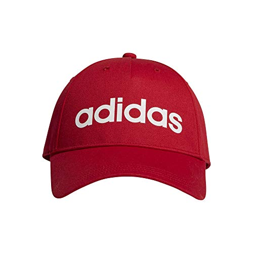 adidas Daily Cap Hat, Unisex Adulto, Scarlet/White, Ofsm