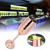Flautas de champán, copa de vino de acero inoxidable, copas de champán, tazas para beber 220 ml para banquete de fiesta de bar(1-2#)