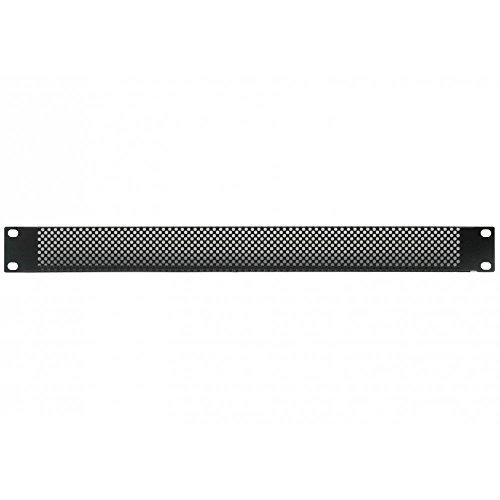 19' Mesh/Vented Rack Blanking Panel/Plate - 1/2/3/4/6U 1U
