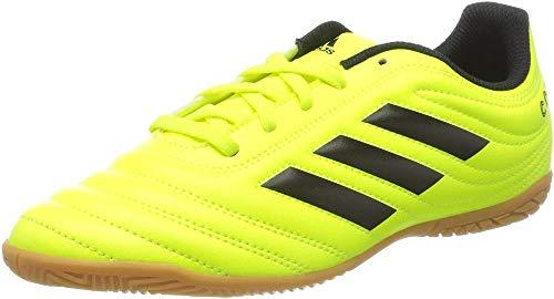 adidas F35451_36 Indoor Football Trainers, Yellow, EU