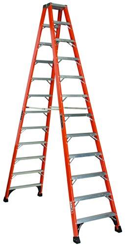 Louisville Ladder FM1412HD Fiberglass Twin Front...