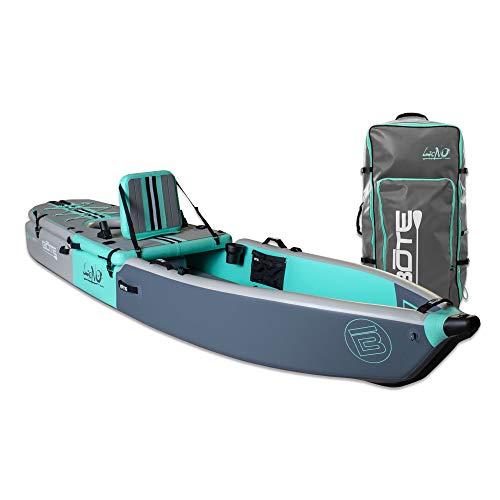 BOTE Lono Aero Inflatable Kayak & Stand Up Paddle Board | Kayak for Fishing & Recreation