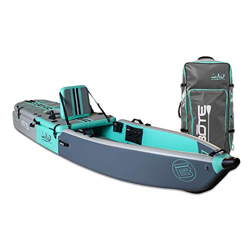 BOTE Lono Aero Inflatable Kayak & Stand Up Paddle Board | Kayak for Fishing & Recreation
