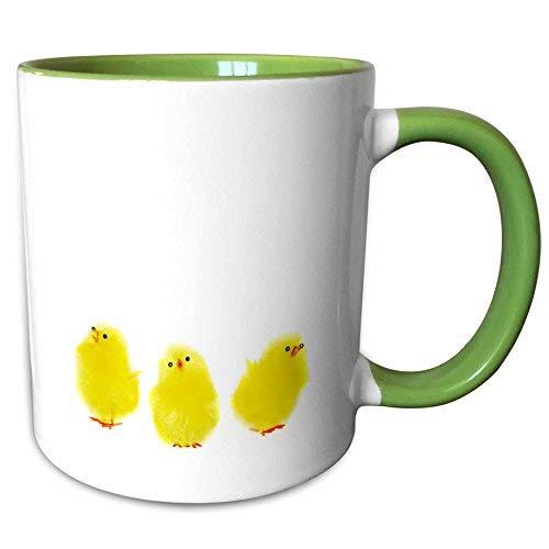 Queen54ferna Tasse, 3 kleine gelbe Osterhähnchen, singend, 325 ml