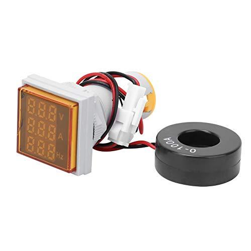 Voltaje Corriente Factor de Potencia Frecuencia Monitor de Energía Eléctrica Amperímetro Voltímetro Multímetro Probador Velocidad de Actualización Aproximadamente Tiempo Piezas Automotrices(Am