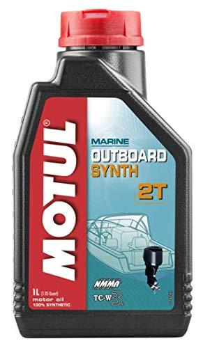 Lubricantes para motor 2 Tiempos Fuera Borda 100% sintético - Motul Outboard Synth 2T, 1 litro