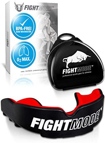 weletix Profi Sport Mundschutz (2020) - Verbesserte Luftkanäle für mehr Kondition - Komfort und sicherer Halt im Kampfsport, Boxen, MMA, Kickboxen, Fussball, Handball, Hockey - für Erwachsene, Kinder