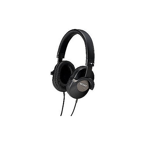 Sony Stereo Headphones with Pressure Relieving Urethane-Cushioned Earpad for Great Comfort