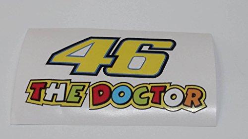 Valentino Rossi 46 The Doctor Aufkleber Sticker Decal Logo JDM Auto Bike Car Helm