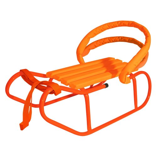 Babywalz - Trineo para bebé, color naranja