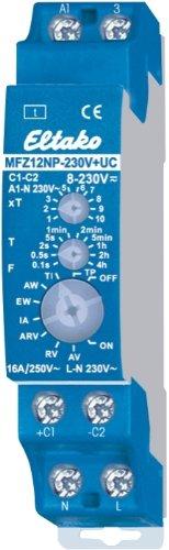 Eltako 1475168 Multifunktionszeitrelais, blau, 9x6x2 cm