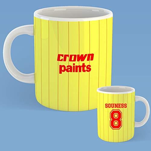 Retro Liverpool 1992 kroon verven voetbal shirt mok drinken Cup klassieke Anfield gift kerstthee koffie