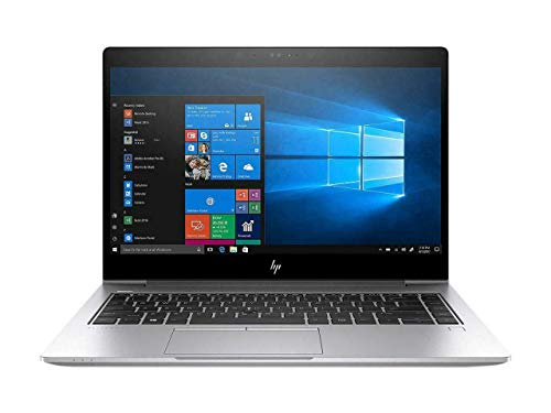 HP EliteBook 840 G5 14' Full HD Laptop Computer, Intel i5-8350U up to 3.6GHz, 8GB DDR4-2400, 256GB NVME, Bluetooth, WiFi, W10P-64, FPR, Camera, 7VE05U8#ABA