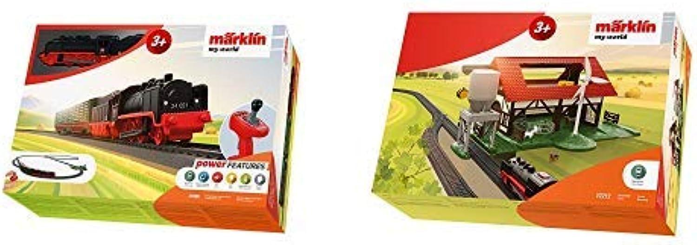 Mrklin 29308 Modellbahn Startset, Bunt &  72212 My World-Bauernhof, Bunt