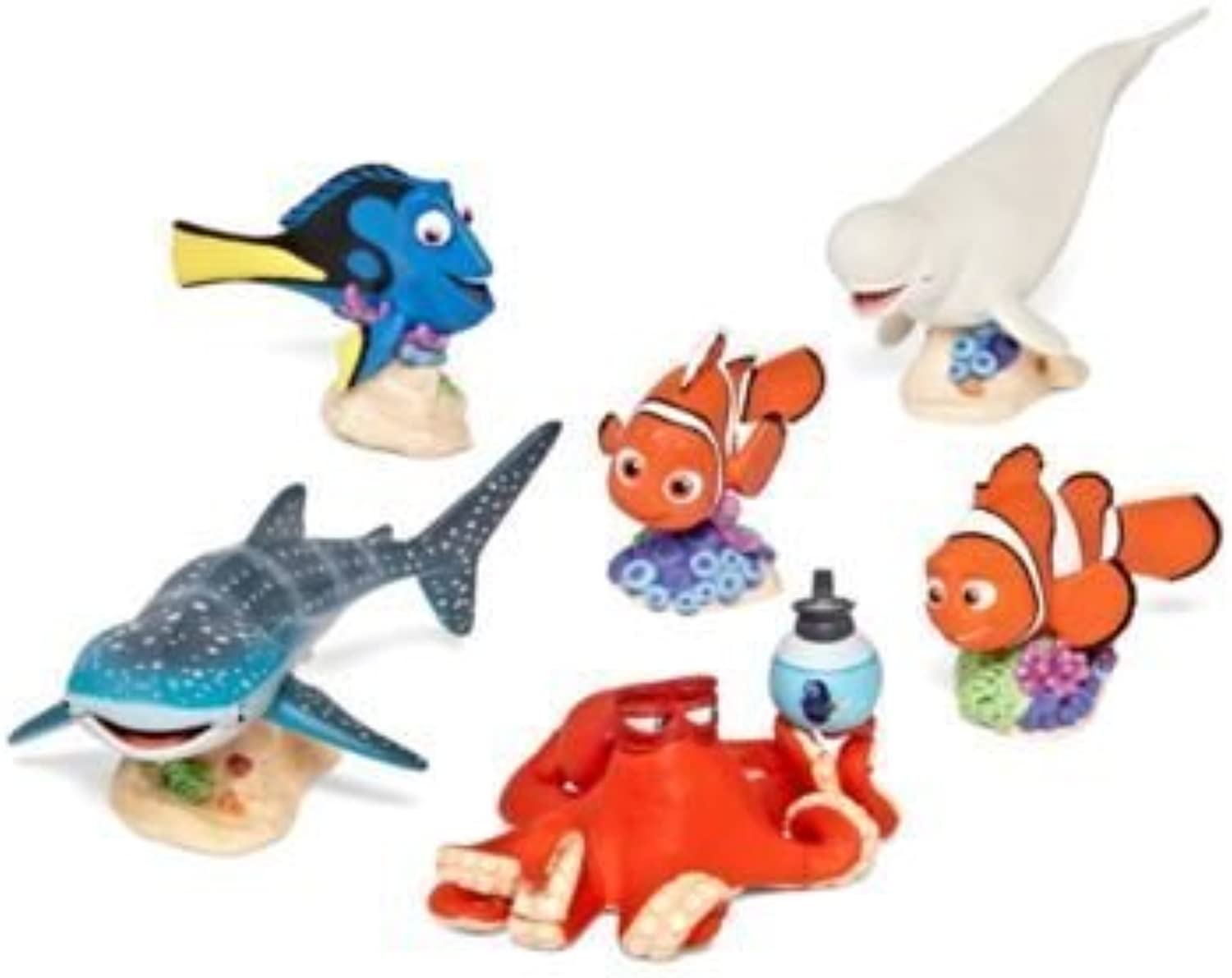 Finding Dory 6 pc playset by Disney