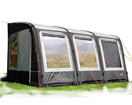 2020 New Camptech Starline Air Inflatable Caravan Grey Porch Awning (Grey, 390)