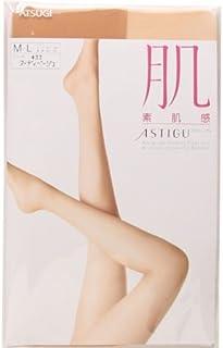 【アツギ/ATSUGI】アスティーグ/ASTIGU 肌 素肌感 ゆったりサイズ パンティストッキング(ヌーディベージュ