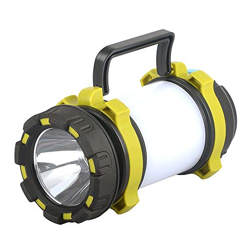 Shenlanyu Camping-Lampe, tragbare LED-Taschenlampe, USB-Ladekabel, multifunktional, Outdoor-Zeltbeleuchtung, LED-Arbeitslicht, Notlicht
