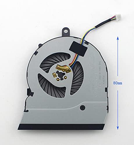Ellenbogenorthese-LQ Ventilador de CPU para computadora portátil para DELL Inspiron 15-5565 15-5567 17-5767 CN-0789DY (Color : Default)