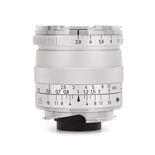 Carl Zeiss 1365-652 - Objetivo telemétrico para Montura Leica M (Biogon T 2,8-25 ZM), Color Gris